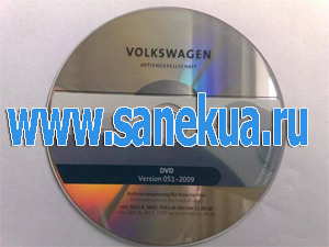 VOLKSWAGEN Flash DVD