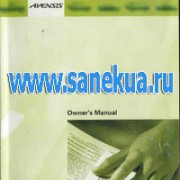 Toyota Avensis. Owner's Manual