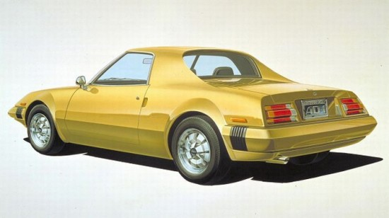 Nissan AD-1 Concept, 1975