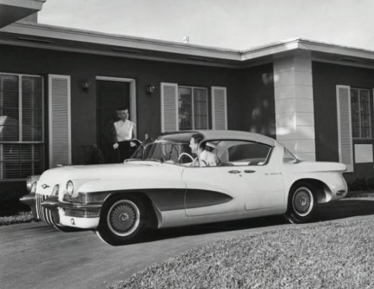 1955 Cadillac LaSalle II coupe