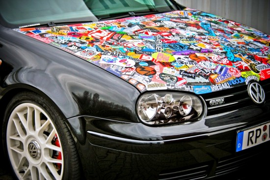 Sticker bombing (Стикер Бомбинг)