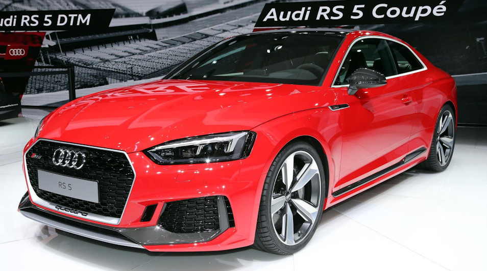 Audi RS 5 Coupe.